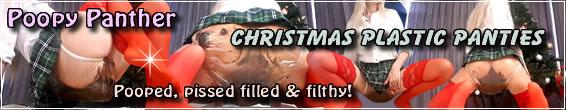 Christmas Plastic Panties
