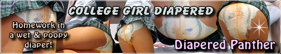 College Girl Diapered